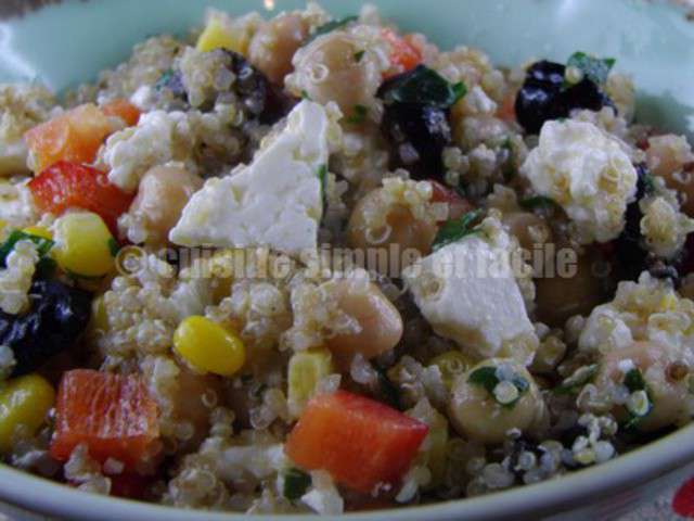 Recettes de salade compos e de cuisine simple et facile for Cuisine simple et facile
