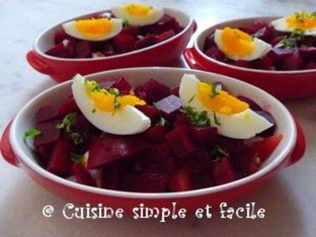 Recettes de betteraves de cuisine simple et facile for Blog de cuisine facile