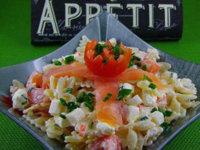 Recettes de p tes au saumon de cuisine simple et facile for Cuisine simple et facile