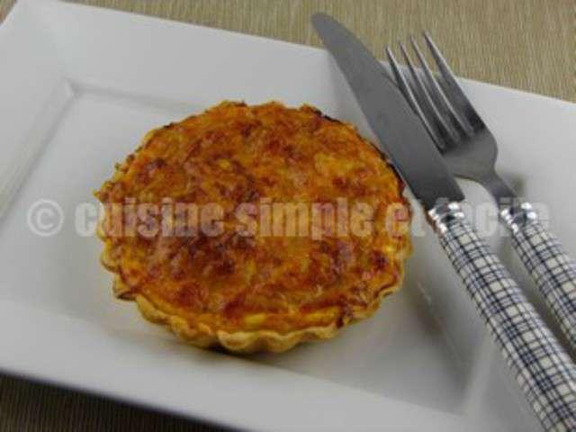Recettes de tarte au thon de cuisine simple et facile for Cuisine simple et facile