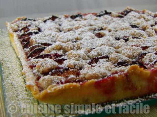 Recettes de tarte aux quetsches de cuisine simple et facile for Blog cuisine facile