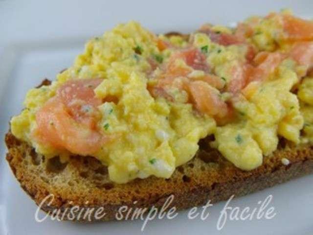 Recettes d 39 oeufs brouill s de cuisine simple et facile - Blog recette de cuisine simple ...