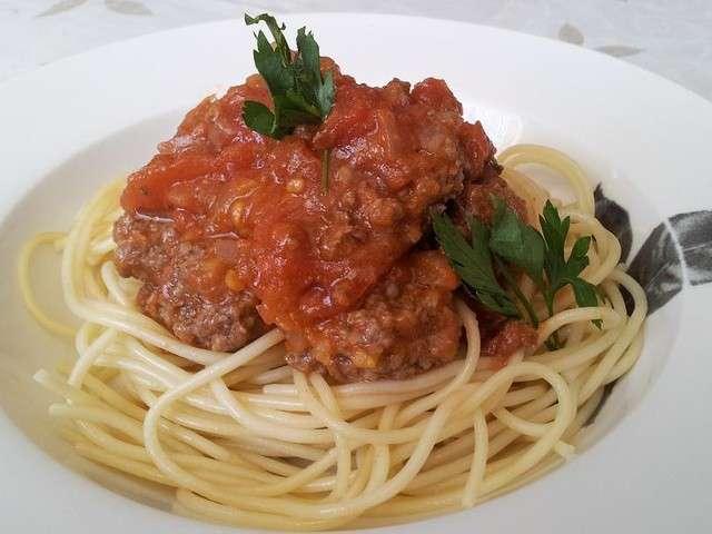 Recettes de spaghetti de cuisine simple et rapide - Cuisine simple et rapide ...