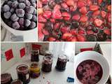 Confiture des fruits rouges