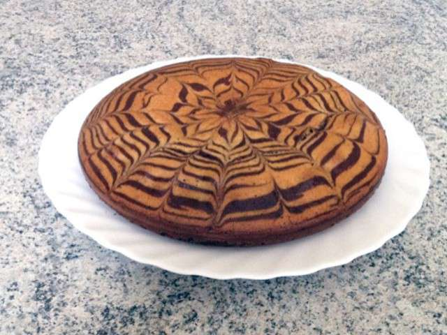 recettes de zebra cake et chocolat. Black Bedroom Furniture Sets. Home Design Ideas