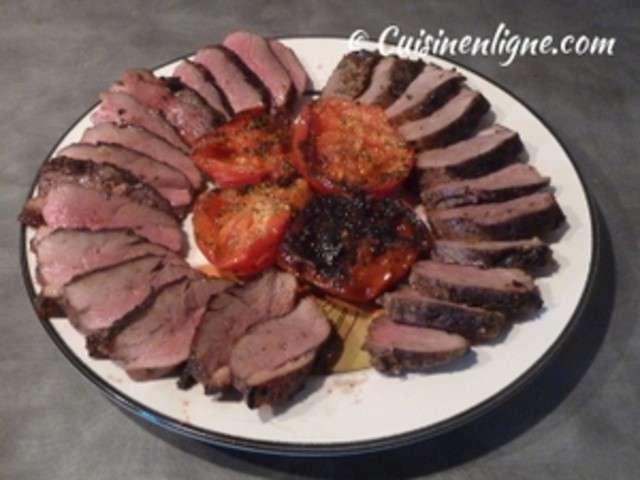 Recettes de canard au barbecue et barbecue - Temps de cuisson magret de canard au four ...