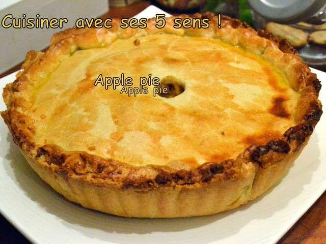 recettes d 39 apple pie de cuisiner avec ses 5 sens. Black Bedroom Furniture Sets. Home Design Ideas
