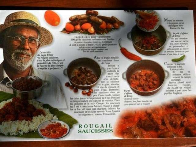 Recettes de rougail saucisse de cuisiner avec ses 5 sens - Cuisiner des saucisses ...