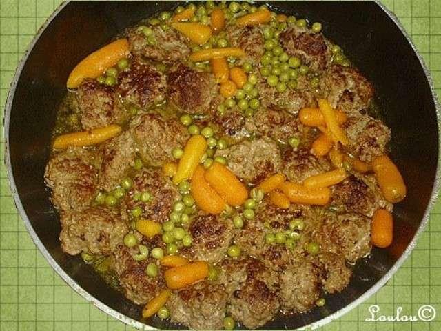 Recettes de boulettes de viande de cuisiner et papoter - Viande facile a cuisiner ...