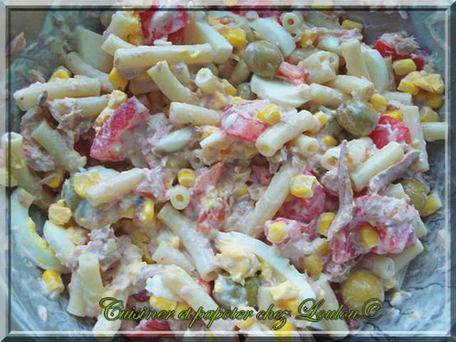 Les Meilleures Recettes De Salade De Pates Au Thon Et Salade De Pates