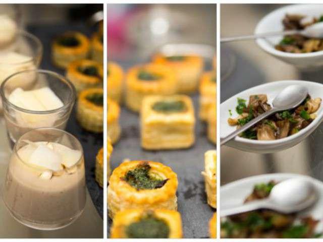Recettes de verrines de cuisiner - Cuisiner des pleurotes ...
