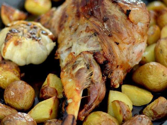 Recettes de gigot d 39 agneau au four - Comment cuisiner un gigot d agneau ...
