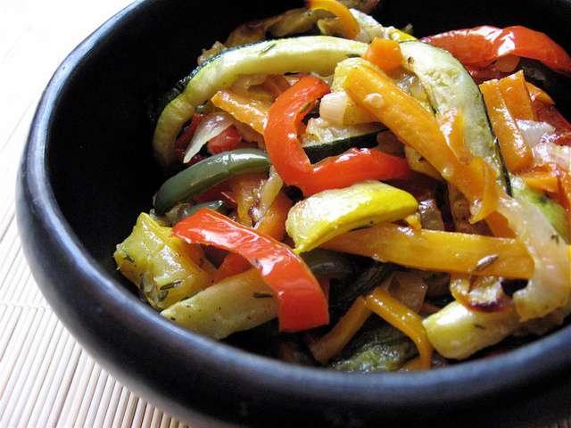 Recettes de l gumes grill s 13 - Recette legumes grilles au four ...