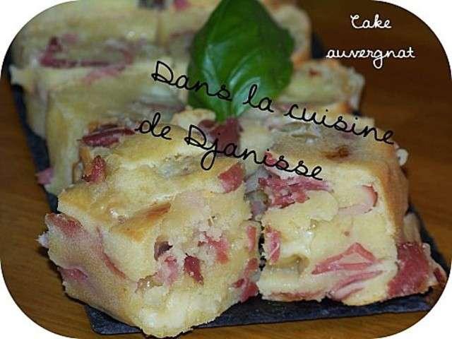 Cake Au Bleu D Auvergne Et Jambon D Auvergne