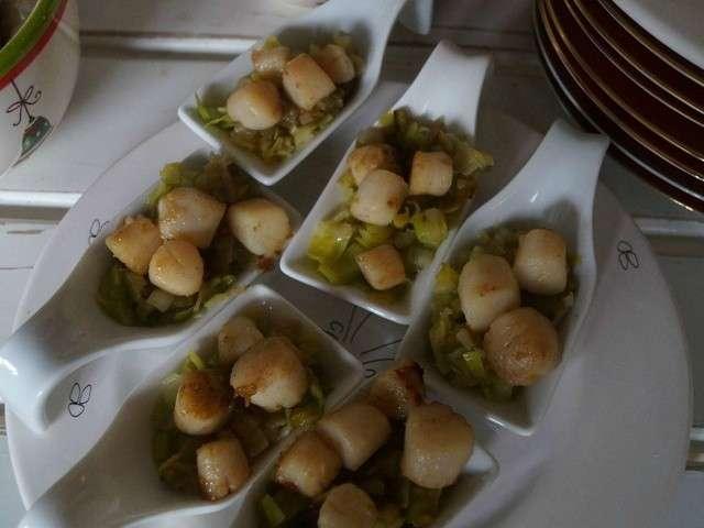 Recettes de coquilles saint jacques 9 - Coquille saint jacques bretonne champignons ...