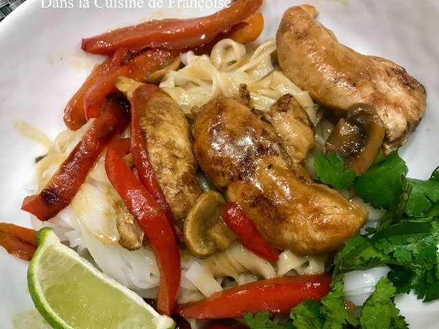 Recettes de dans la cuisine de fran oise - Cuisine thai poulet curry vert ...