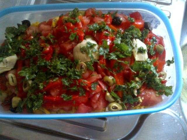 Recettes de salades et t 10 - Salade d ete composee ...