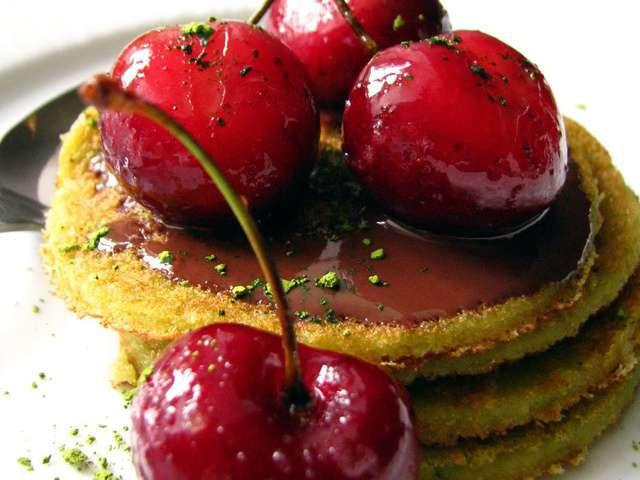 Recettes de cerises de dans la cuisine de sophie for Dessert avec des cerises fraiches