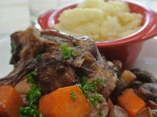 Recettes de daube et agneau for Cuisine en rose