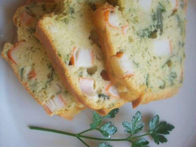 Cake Surimi Courgette Thermomix