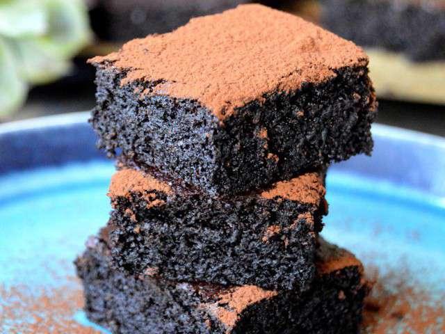 Recettes de farine et chocolat 2 - Gateau au chocolat healthy ...
