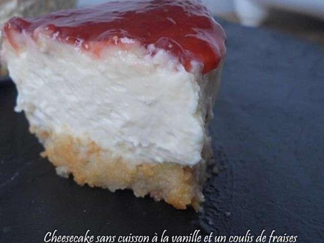 Les meilleures recettes de cheesecake et vanille - Recette cheesecake sans cuisson ...