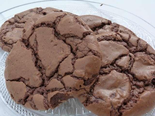 Recettes de cookies de d lices et partages - Recette cookies chocolat moelleux ...