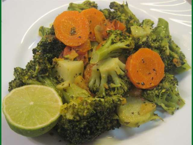 les meilleures recettes de brocolis et carottes. Black Bedroom Furniture Sets. Home Design Ideas