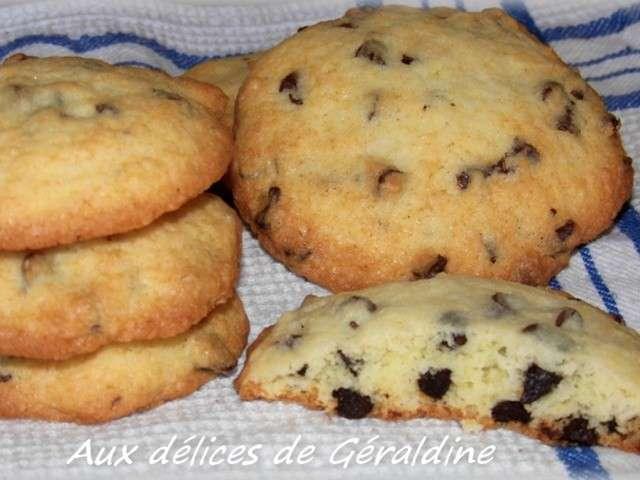 Recettes de moelleux et p pites de chocolat 6 - Recette cookies chocolat moelleux ...