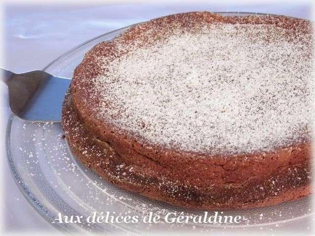 Recettes de aux d lices de g raldine 11 - Gateau au chocolat sans farine ...
