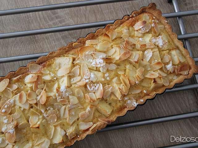 recettes de tarte aux pommes normande de delizioso. Black Bedroom Furniture Sets. Home Design Ideas