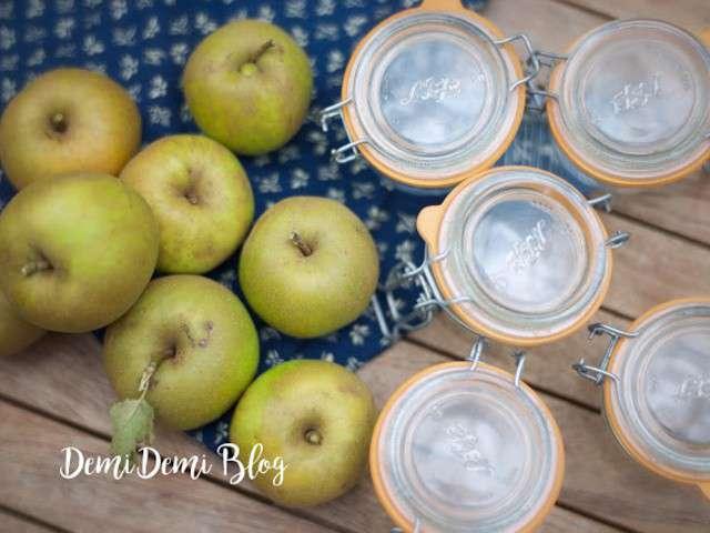 recettes de compote de pommes. Black Bedroom Furniture Sets. Home Design Ideas