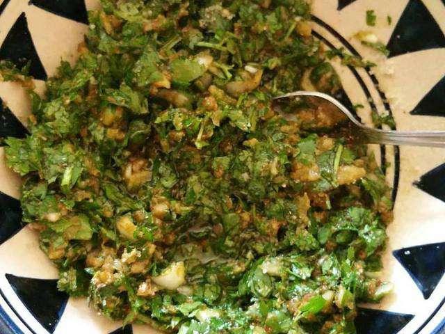 Les meilleures recettes de chermoula 9 for Salade pour accompagner poisson