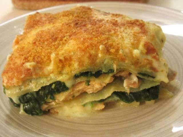 Recettes De Lasagnes Saumon Epinard