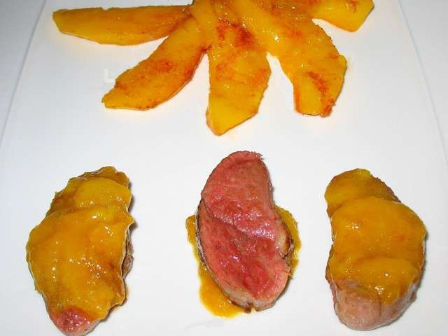 Recettes de magret de canard a la mangue - Recette magret de canard a la poele ...