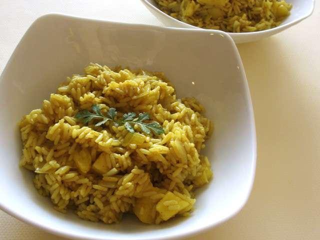 recettes de riz au curry. Black Bedroom Furniture Sets. Home Design Ideas