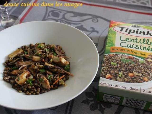 Recettes de lentilles et canard - Cuisine tv recettes minutes chrono ...