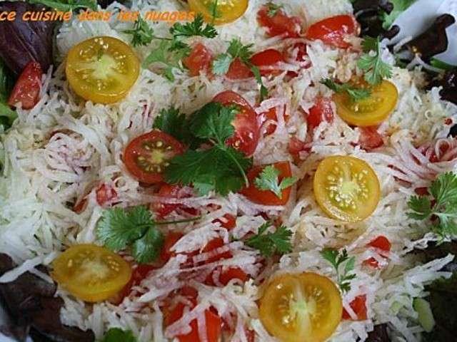 Recettes de salade de mangue verte for Eliminer les vers des salades