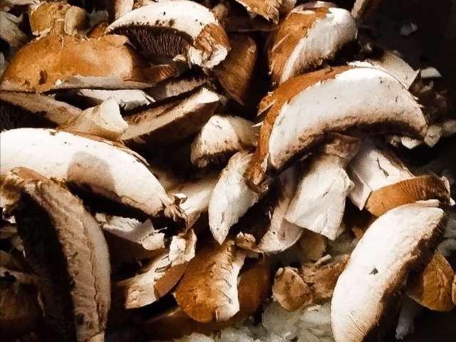 Recettes de champignons et po l e - Champignon de paris recette poelee ...