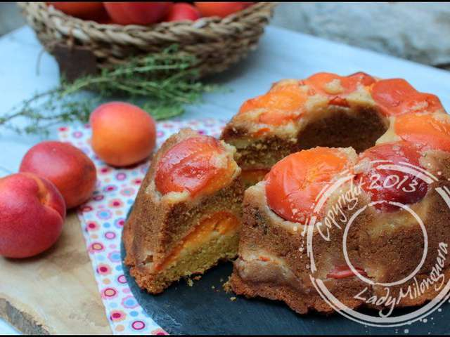 recettes de polenta et miel