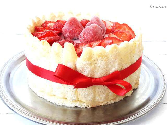 Recettes de charlotte aux fraises et charlottes for Maison de charlotte aux fraises