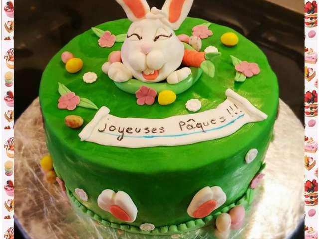 Recettes de lapin et g teaux - Gateau pate a sucre paques ...