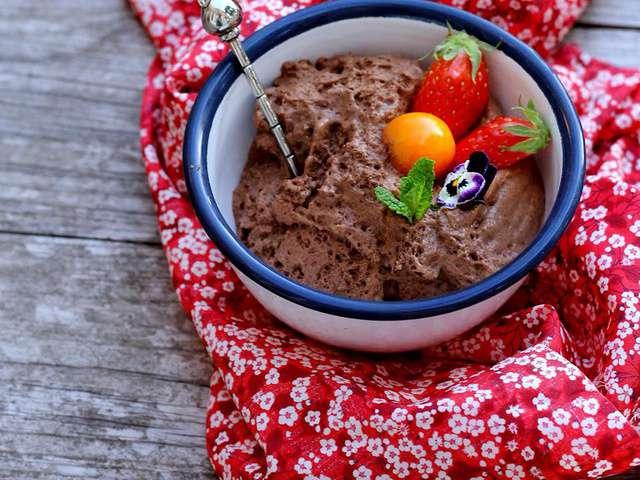 Recettes de mousse au chocolat et cuisine sans oeuf - Recette de cuisine sans oeuf ...