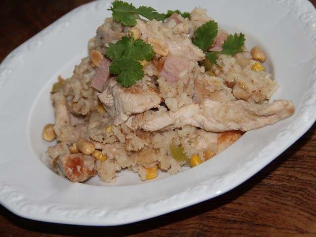 Recettes de riz et jambon - Cuisiner du jambon blanc ...