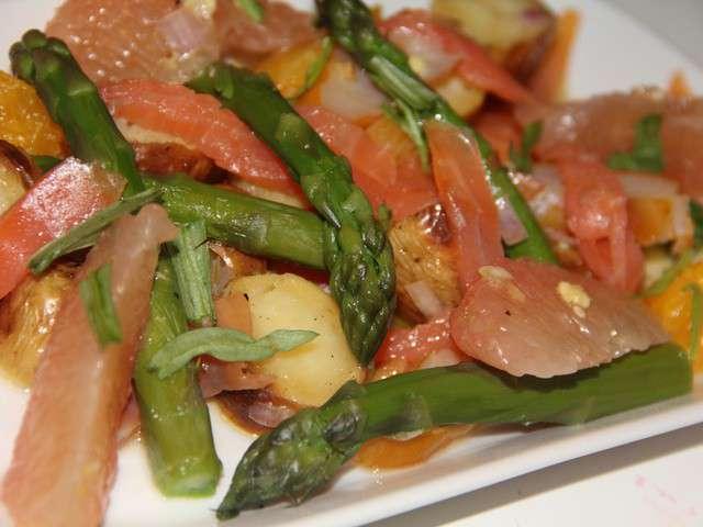Recettes de poisson de du jardin et du march l for Salade pour accompagner poisson