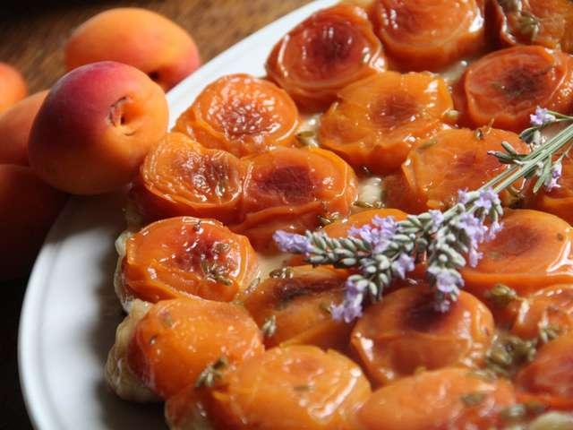 Recettes d 39 abricot et lavande for Du jardin a l assiette mauves