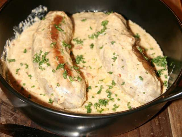 Recettes d 39 andouillettes et sauce moutarde - Cuisiner des andouillettes ...