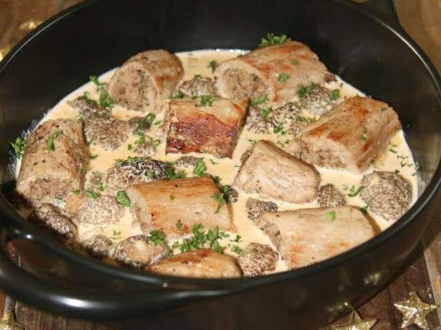 Recettes de sauce aux morilles - Comment cuisiner une blanquette de veau ...