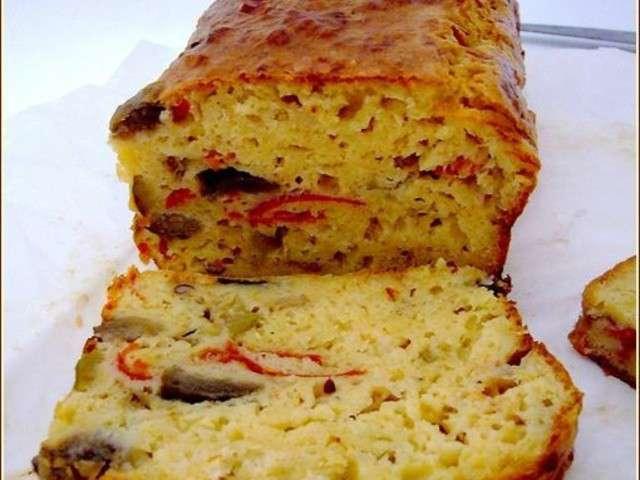 Recette Cake Piperade