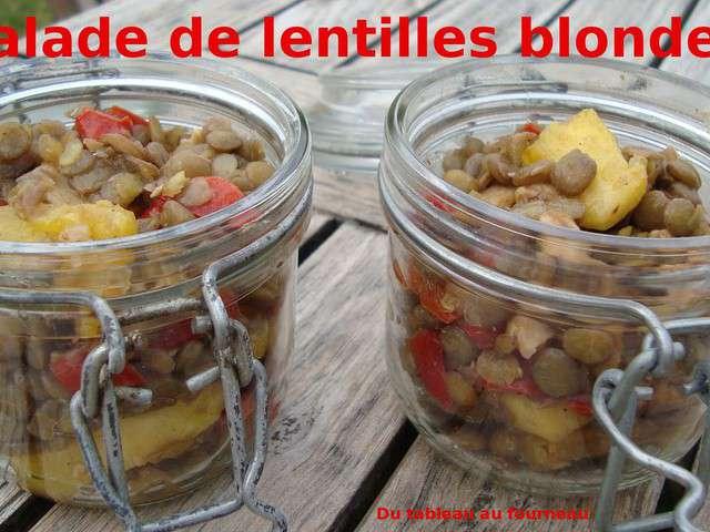 Recettes de lentilles et poulet 2 - Comment cuisiner des lentilles blondes ...